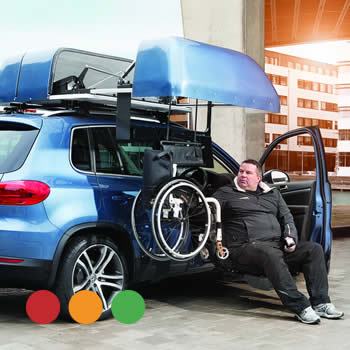 Wheelchair Roof Boxes